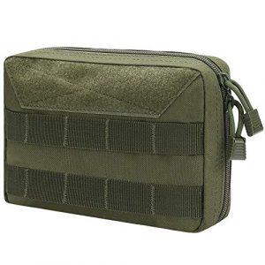 XAegis Tactical Pouch 1 XAegis Molle Admin Pouch Gear Organizer Carry Bag Belt Attachment MP20