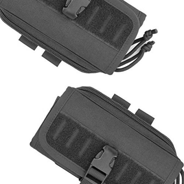 AMYIPO Tactical Pouch 5 AMYIPO Cell Phone Pouch Tactical Smartphone Pouch EDC Utility Gadget Waist Bag Pack