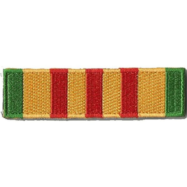 Gadsden and Culpeper Airsoft Morale Patch 1 Tactical Morale Patch - Vietnam Service Ribbon Design