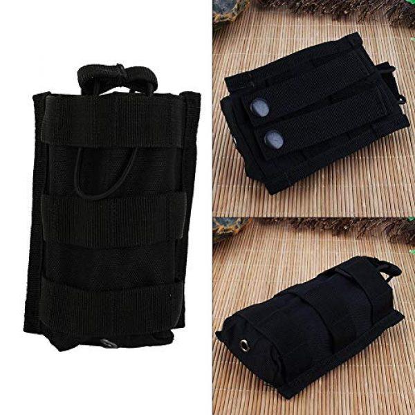 Alomejor Tactical Pouch 3 Alomejor Rifle Pistol Pouch Version Tactical Triple Pistol and Rifle Mag Pouch