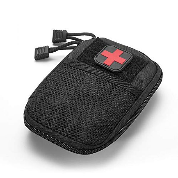 BIHIKI Tactical Pouch 4 BIHIKI Medical Pouch, First Aid Bag Tactical Pouch for Camping Climbing Traveling Outdoor Activities, Bag Only