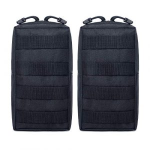 Tacticool Tactical Pouch 1 Tacticool 2 Pack Molle Pouches - Tactical Compact Water-Resistant EDC Pouch