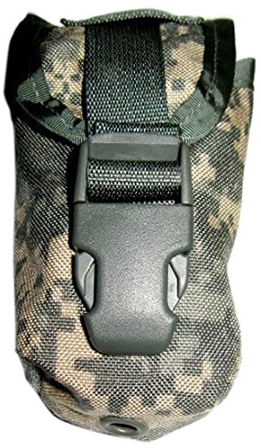 USGI Tactical Pouch 1 US Military MOLLE II Flashbang Grenade Pouch (ACU, MultiCam, or Desert Camo)