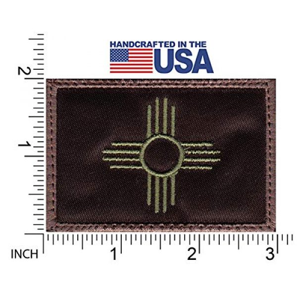 Tactical Patch Works Airsoft Morale Patch 2 New Mexico Zia Symbol State Flag Patch