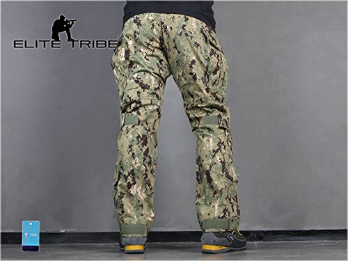 Elite Tribe Tactical Pant 4 Emerson Airsoft Hunting Tactical Pants Combat Gen3 Pants with Knee Pad