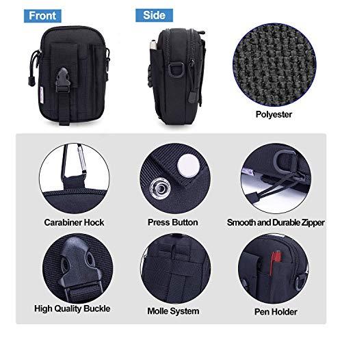 Mardingtop Tactical Backpack 4 Mardingtop Bundle Items: 28L Molle Hiking Tactical Backpack Black