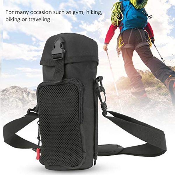 VGEBY Tactical Pouch 7 VGEBY Outdoor Water Bottle Bag Waterproof Outdoor Tactics Water Bottle Bag Pouch Hydration Carrier Sport Bag for Camping Hiking Fishing