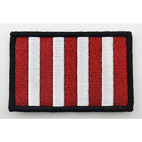 """Cpatches Airsoft Morale Patch 1 Sons of Liberty Flag Patch 2""""x3"""" inches Hook and Loop Backing"""