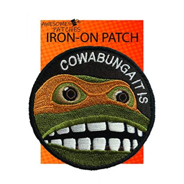 AwesomePatches Airsoft Morale Patch 1 Premium Iron-on Embroidery Decorative Sew-on Patches Appliqu© for Backpack Jeans Jackets Shirts Garments, 3 Inch