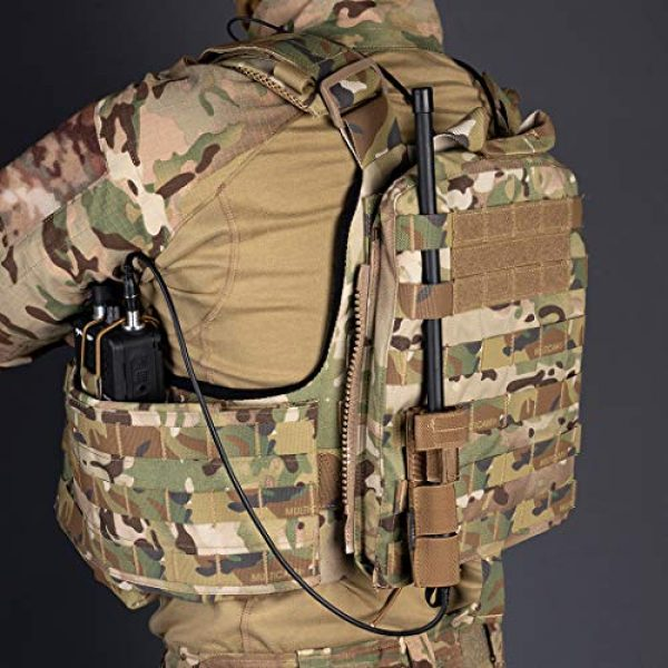 IDOGEAR Tactical Pouch 6 IDOGEAR Tactical Radio Antenna System Relocation Pouch Molle Pouch for PRC152 PRC148 MBITR