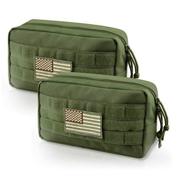 AMYIPO Tactical Pouch 1 AMYIPO MOLLE Pouch Multi-Purpose Compact Tactical Waist Bags Utility Pouch