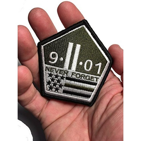 Pantel Tactical Airsoft Morale Patch 3 Multicam Us Made 9 11 Never Forget Patch Morale Military 911 Twin Towers