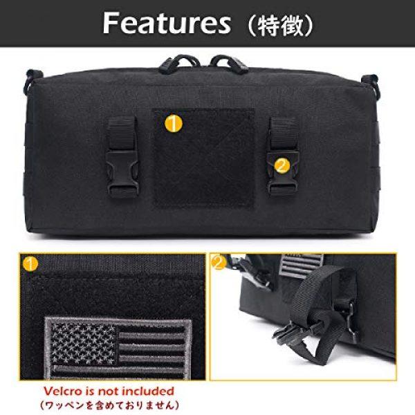 TRIWONDER Tactical Pouch 3 TRIWONDER Tactical Sling Bag Pack Molle Military Shoulder Bag Backpack Messenger Bag Utility Shoulder Satchel