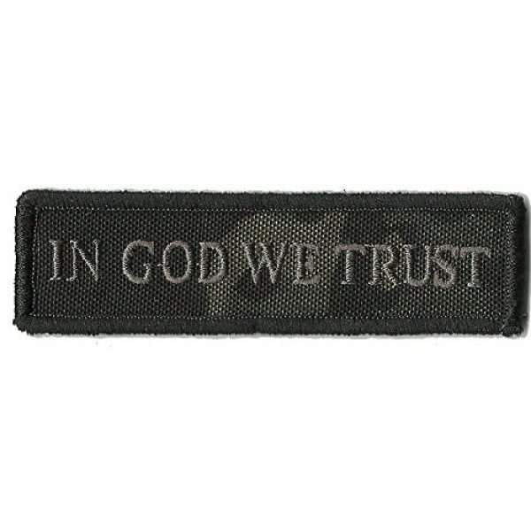 Gadsden and Culpeper Airsoft Morale Patch 1 MULTICAM-BLACK In God We Trust - Tactical Morale Patch