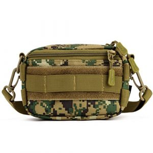 Protector Plus Tactical Pouch 1 Protector Plus Tactical Pouches Utility MOLLE Duffel Bags Outdoor Casual Messenger Bag Military Waist Belt Pack