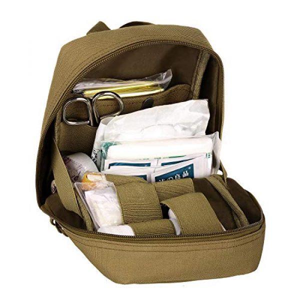 ArcEnCiel Tactical Pouch 4 ArcEnCiel EMT Molle Pouch Tactical Military IFAK Medical First Aid Kit Utility Bag