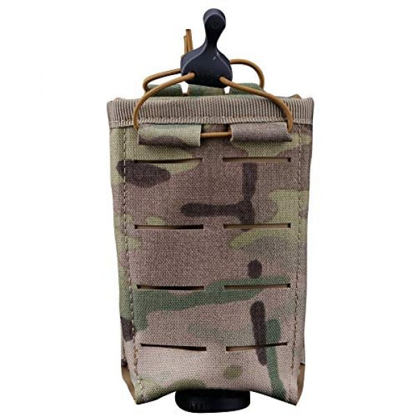 ATAIRSOFT Tactical Pouch 1 ATAIRSOFT Tactical Single MOLLE 1000D Adjustable Magazine Mag Holder Pouch Carrier for Airsoft Hunting Military Shooting