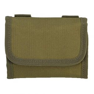 ZJchao Tactical Pouch 1 ZJchao Cartridge Holder, 3 Colors Nylon 12 Round Cartridge Pouch Bag Small Items Holder Case