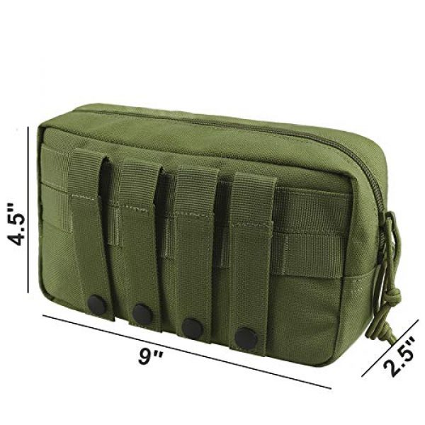 AMYIPO Tactical Pouch 2 AMYIPO MOLLE Pouch Multi-Purpose Compact Tactical Waist Bags Utility Pouch