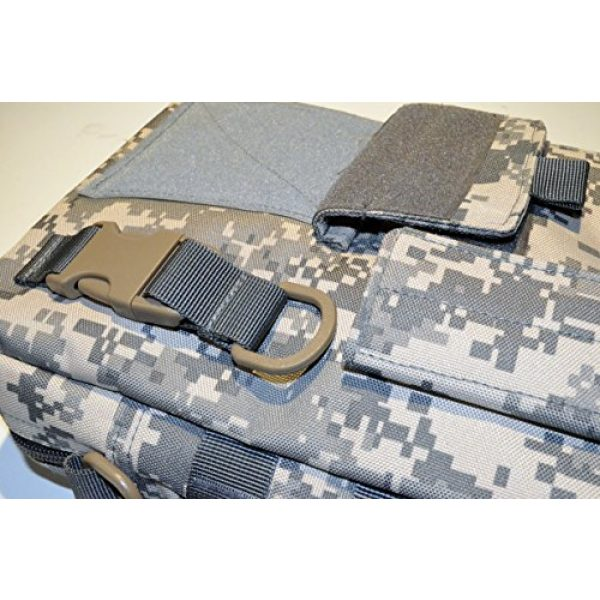 Acid Tactical Tactical Pouch 6 Acid Tactical MOLLE First Aid Bag Pouch Trauma EMT Medic Utility - Digital ACU Camo