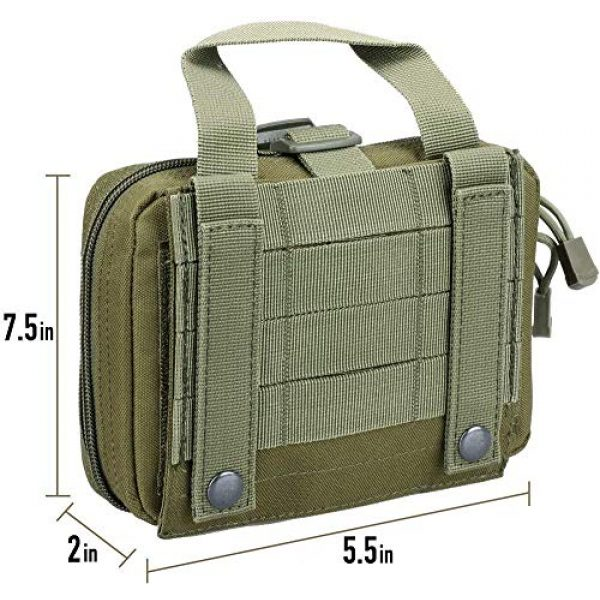 ACOMOO Tactical Pouch 7 ACOMOO Tactical Pouch Tear-Proof Molle Medical Pouch Tearable First Aid Kit, Emergency Bag for Outdoor Hiking