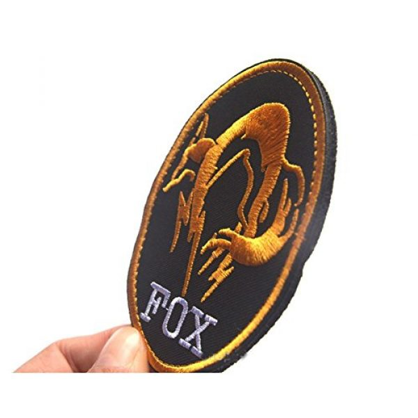 GrayCell Airsoft Morale Patch 5 GrayCell Military Morale Diamond Dogs and Metal Gear Solid Fox Patch