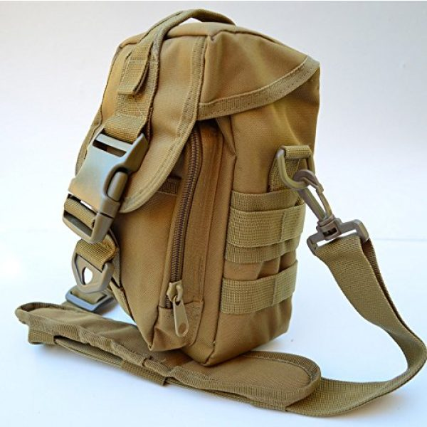 Acid Tactical Tactical Pouch 4 Acid Tactical MOLLE First Aid Bag Pouch Trauma TAN/Sand EMT Medic Utility