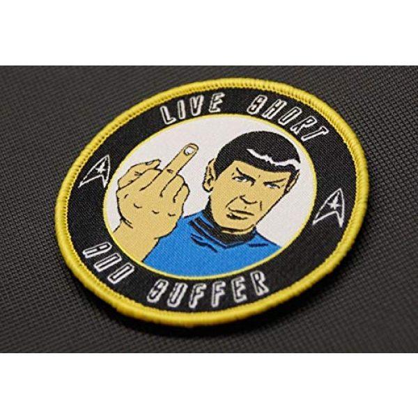 BritKitUSA Airsoft Morale Patch 2 BritKitUSA Nihilistic Spock Morale Patch Star Trek Captain Spock Hook & Loop