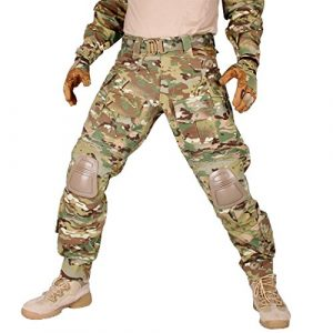 IDOGEAR SPORTS Tactical Pant 1 IDOGEAR G3 Combat Pants with Knee Pads Multicam Black Airsoft Hunting Army Military Camouflage Clothing