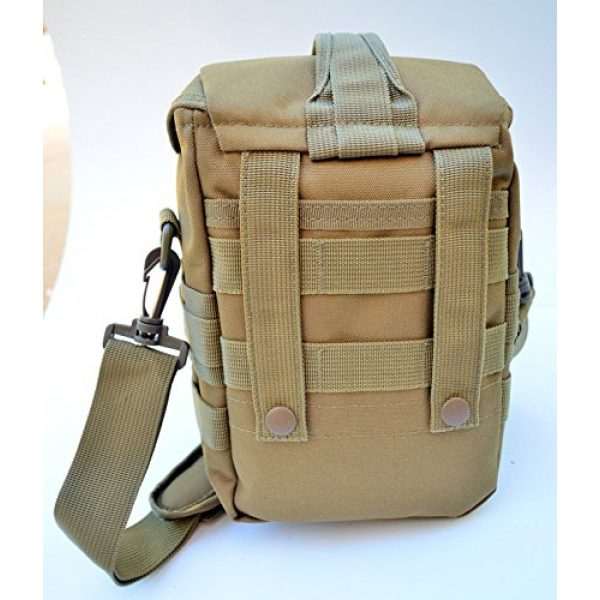 Acid Tactical Tactical Pouch 3 Acid Tactical MOLLE First Aid Bag Pouch Trauma TAN/Sand EMT Medic Utility