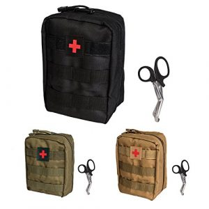 Krisvie Tactical Pouch 1 Krisvie Tactical EMT Pouch 1000D Nylon Molle First Aid Bag for Outdoor