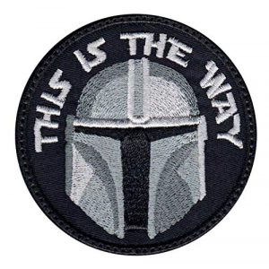 Patch Brigade Airsoft Morale Patch 1 Mandalorian This Is The Way Full Helmet Inspired Art Patch