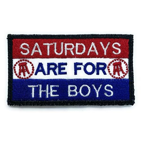 Almost SGT Airsoft Morale Patch 1 for The Boys Patch Saturdays - Funny Tactical Military Morale Embroidered Patch Hook Backing