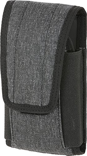 Maxpedition Tactical Pouch 1 Maxpedition Gear Entity Utility Pouch Large Fits Regular & Plus Size iPhone, Charcoal