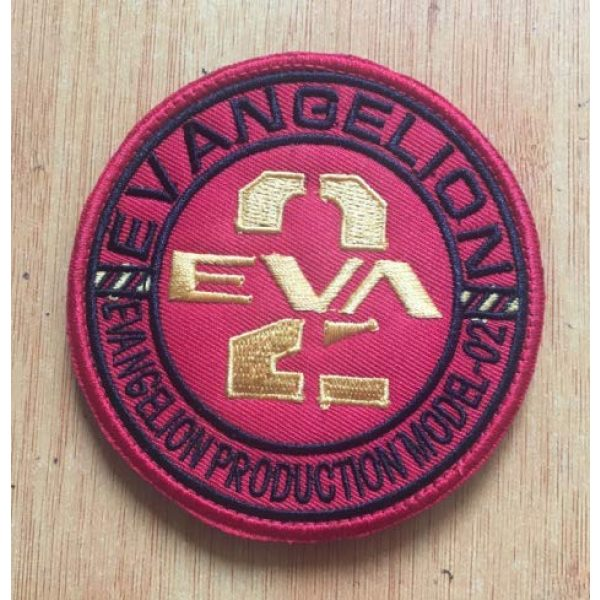 Embroidered Patch Airsoft Morale Patch 1 EVA Type-02 Neon Genesis Evangelion 3D Tactical Patch Military Embroidered Morale Tags Badge Embroidered Patch DIY Applique Shoulder Patch Embroidery Gift Patch
