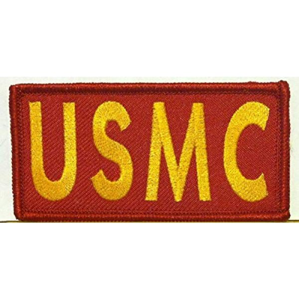Victoriou Airsoft Morale Patch 1 Victoriou USMC Iron-On Patch United States Marine Corp Morale Tactical Patch 4 x 2