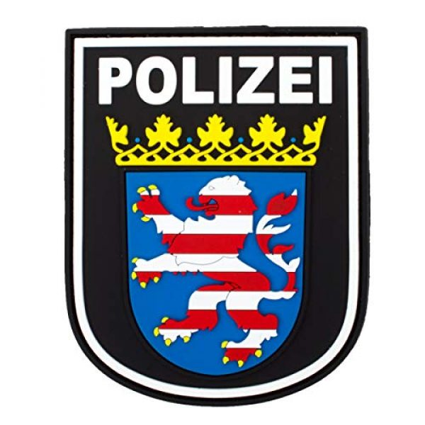 Jackets To Go Airsoft Morale Patch 1 Jackets To Go JTG German Police Hessen 3D Patch - fullcolor