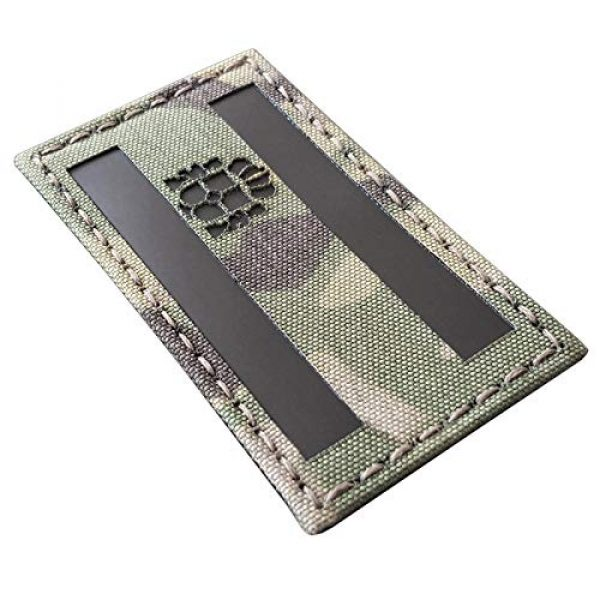 Tactical Freaky Airsoft Morale Patch 2 Multicam Infrared IR Spain Flag Bandera Espaa 3.5x2 IFF Tactical Morale Touch Fastener Patch
