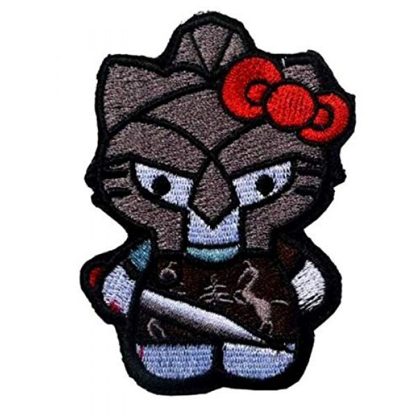 Embroidered Patch Airsoft Morale Patch 1 Maximus Gladiator Hello Kitty 3D Tactical Patch Military Embroidered Morale Tags Badge Embroidered Patch DIY Applique Shoulder Patch Embroidery Gift Patch