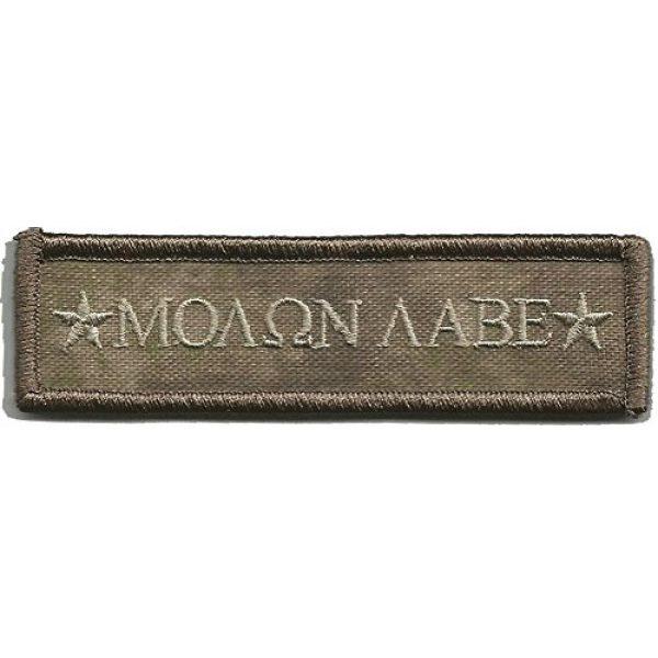 Gadsden and Culpeper Airsoft Morale Patch 1 Atacs-AU Tactical Patch - Molon Morale