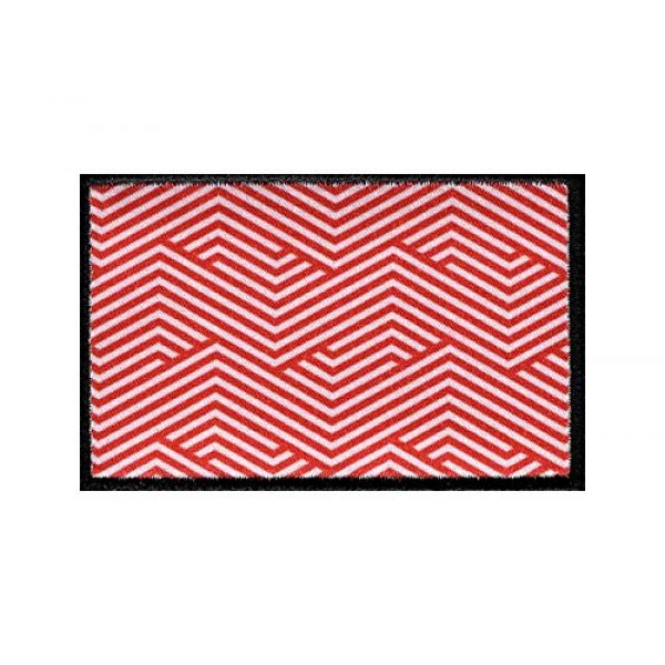 8.50011E+11 Airsoft Morale Patch 1 00850010526157 5Head Hat Company Illusionist Printed Velcro Patch Red