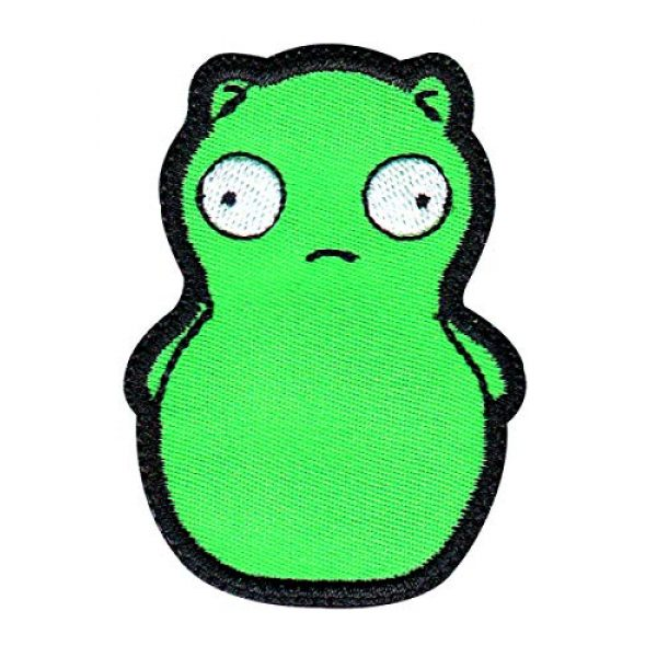 Tactical Patch Works Airsoft Morale Patch 1 Louise Belcher Kuchi Kopi Inspired Art Patch