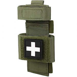 LIVANS Tactical Pouch 1 LIVANS Tactical Tourniquet Pouch Holder, Molle Shear Pouch Tourniquet & Trauma Medical Shear Pouch Molle PALS Belt Loop EMT Tools Pouch EDC Tactical Gear Holder