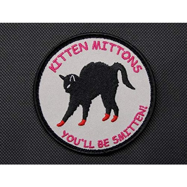 BritKitUSA Airsoft Morale Patch 1 BritKitUSA Kitten Mittons Morale Patch It's Always Sunny in Philadelphia Iron-on/Sew on