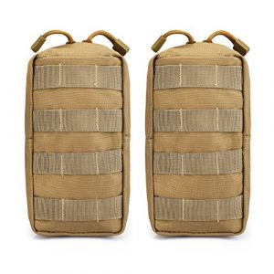 G4Free Tactical Pouch 1 G4Free 2 Pack Tactical Molle Pouches EDC Waist Bag Pack Small Gear Gadget for Vest