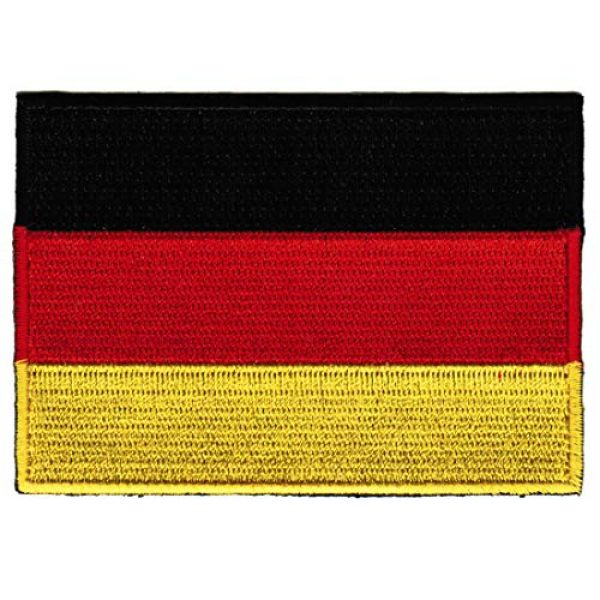 Cypress Collectibles Embroidered Patches Airsoft Morale Patch 1 Germany Flag Embroidered Patch German Iron-On National Emblem