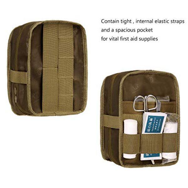 ArcEnCiel Tactical Pouch 3 ArcEnCiel EMT Molle Pouch Tactical Military IFAK Medical First Aid Kit Utility Bag