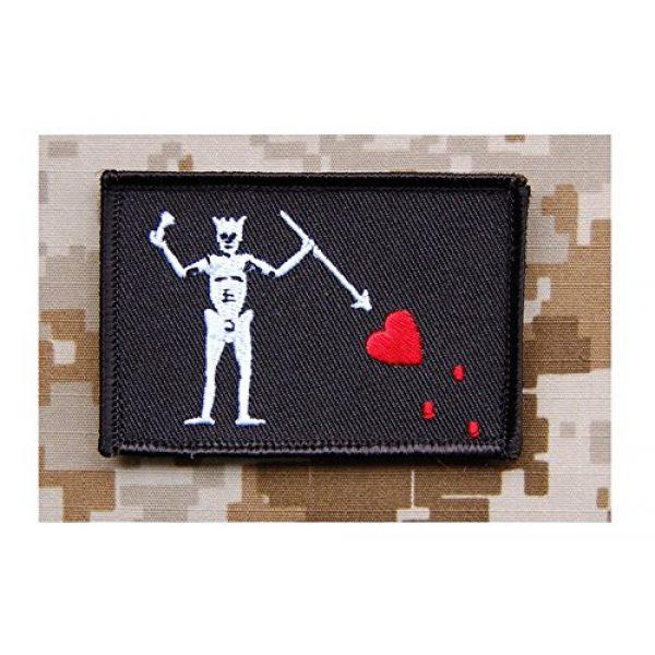 BritKitUSA Airsoft Morale Patch 1 Navy SEAL Team 3 Blackbeard Pirate Flag Patch Edward Teach Battlefield 4