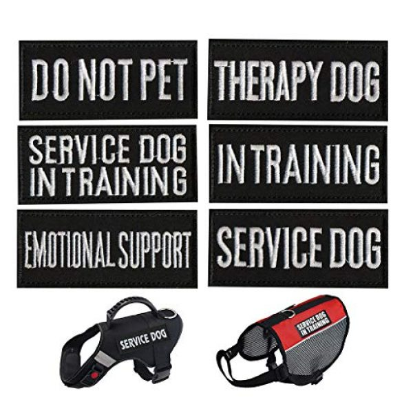 As Show Airsoft Morale Patch 2 Patch - Patches for Harnesss Vest Service Dog - Embroidered Morale Patches Tactical Funny for Hat, Backpack, Jackets