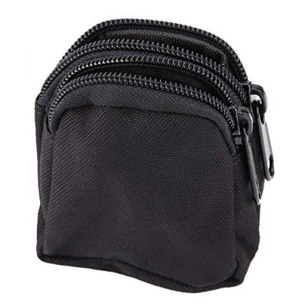 Alomejor Tactical Pouch 2 Alomejor Tactical Hanging Bag Sports Mini Waterproof Nylon Waterproof Waist Bag Outdoor Portable Storage Pouch